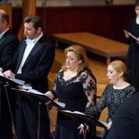 J. Bręk, R. Bartmiński, A. Lubańska, M. Boberska. Filharmonia Narodowa